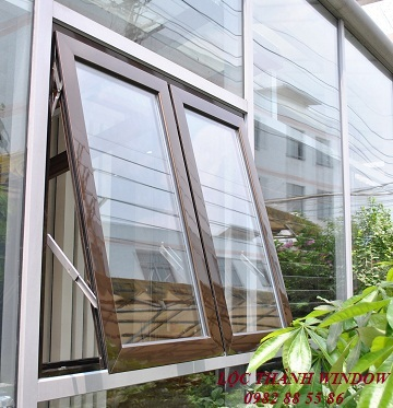 Cửa sổ mở hất 2 cánh Hệ XingFa